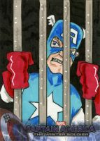 Captain America 2, The Winter Soldier - In Jail by 10th-letter