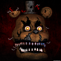 Nightmare Freddy WIP 2 by GamesProduction
