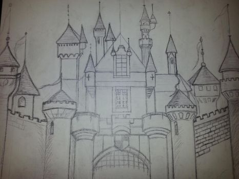 WIP castle  by smunk1