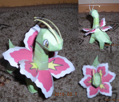 Meganium papercraft 2 by Weirda208