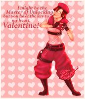 Jill Valentine's Day Card by MasterOfUnlocking