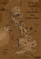 Old map of Great Britain by Mr-Xvious
