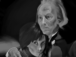First Doctor and Susan by Kimasat
