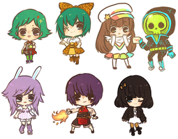 commissions -- papercheebs by onisuu