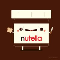 Happy Nutella Guy by orangecircle