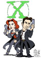 X Files Tatoo color by ravensdojo
