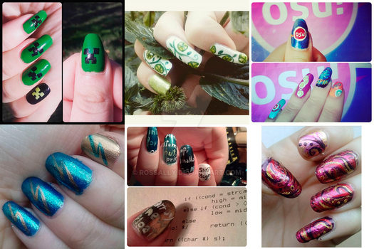 Nail art (part 11) by Rossally
