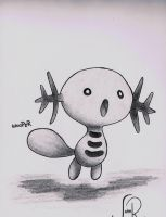 Wooper by johnrenelle