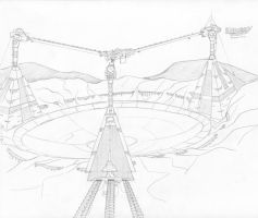 Comms arcology by VoughtVindicator