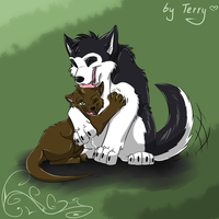Husky for Mutabi by Iguana-in-Darkness