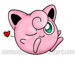 jigglypuff by Nintendrawer
