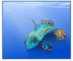 The Mandarin Fish by Coolflm