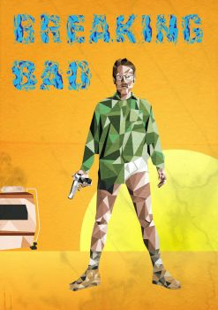 Breaking Bad - Walter White boxed style by palmovish