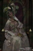 Anat as Madame Du Barry (Dedicated to Angelika) by VincentOfDreamhouse