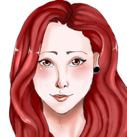 Red Head by KimikoAix