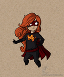 Commission: Dark Flame Tooned by Know-Kname