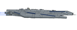 Mass Effect Natazhat Class Dreadnought by Seeras