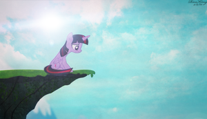 Screen Cap Edit: Sad Twilight Is Sad by DirtPoorRiceKing