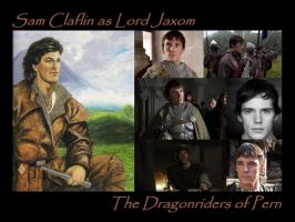 Sam Claflin as Jaxom by SWFan1977