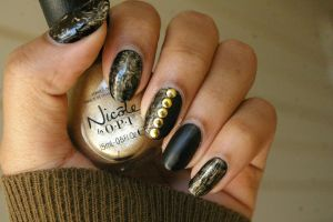 Gold Marble by FatimattiDesigns