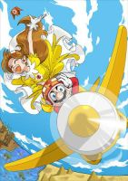 Super Mario Land Daisy by Arashi-H