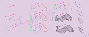 Wing Tutorial by gorongirl