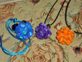 Deathbell pendants from Skyrim by Babonga