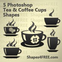 Tea Vector Shapes Set by aliexepress12