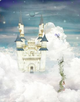 Castle In the Clouds by suruha