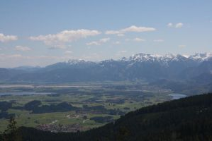 view from mountain by ingeline-art