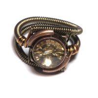 Steampunk Jewelry Topaz by CatherinetteRings