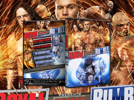 WWE Royal Rumble 2004 DVD Cover by Mohamed-Fahmy