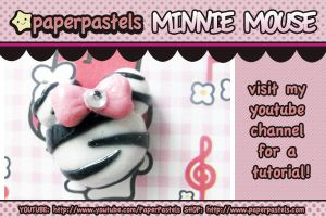 Minnie Mouse Charm by circuskillers