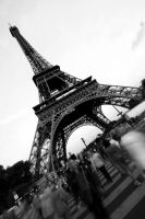 Eiffel Tower by jeteng