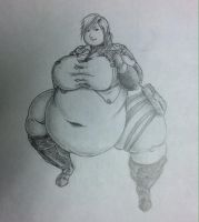 Obese Lightning Farron by Hisano-x