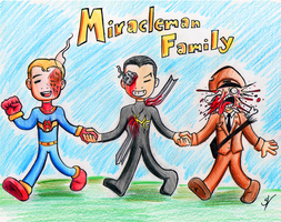 Miracleman Family by ZSeibar
