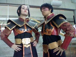 Fanime 2011: Azula and Zuko by Hrgranger
