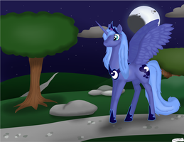 Luna Digital Shade With Armor by ShortCircuitCA