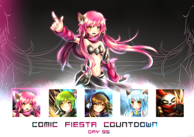 Comic Fiesta 2013 Countdown DAY 95 by Fenrixion