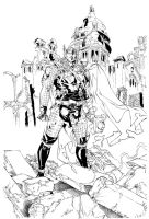 Battletorn Thor - Trindade ink by SpiderGuile