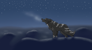 Lonely Howl by Aquinassar