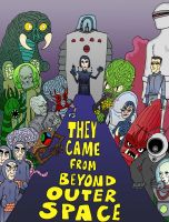 They Came from Beyond Outer Space by Lordwormm