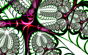 Abstract Fractal Desktop by FoxMcCarther