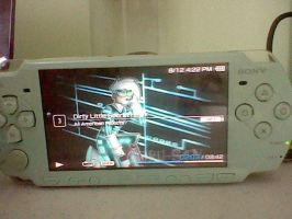My PSP by raygirl12