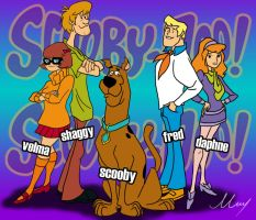 Scooby Doo by MartinsGraphics