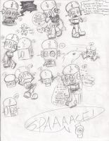 Robot Jones Doodles 2 by AquaDragon76