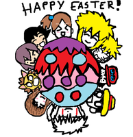 Happy Easter ^-^ by Fran48