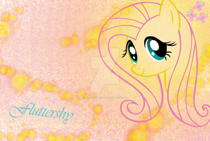 Fluttershy Wallpaper by NiravienaMLP