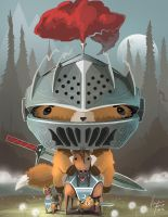 Fox Knight by Spartan0627