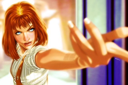 Leeloo Dallas - The Fifth Element by EddieHolly
